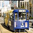 函館市交通局(函館市電) 710形 724 広告塗装