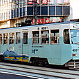 函館市交通局(函館市電) 8000形 8007 広告塗装