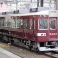 阪急京都線 6300系 リニューアル車(嵐山線用)4連 6353F④ 6450形 6453