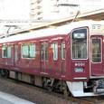 阪急宝塚線 9000系8連_9001F① 9001 Mc1