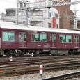 阪急京都線 9300系(1次形)8連_9300F② 9850形 9850 T1