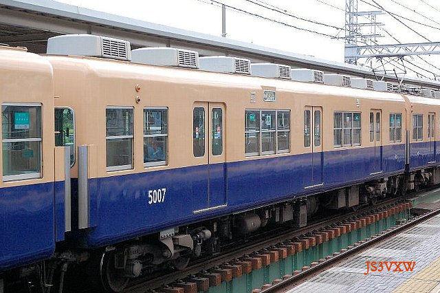 阪神電気鉄道 J系 5001形 5005F③ 5007 M1