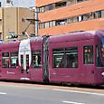 広島電鉄 1000形 1001 グリーンムーバーLEX 撮影2014年3月