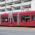 広島電鉄 1000形 1002 ① グリーンムーバーLEX 撮影2014年3月