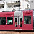 広島電鉄 1000形 1002 ② グリーンムーバーLEX 撮影2014年3月