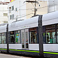 広島電鉄 1000形 1004 ② グリーンムーバーLEX 撮影2014年3月