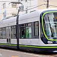 広島電鉄 1000形 1004 ③ グリーンムーバーLEX 撮影2014年3月
