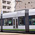 広島電鉄 1000形 1005 ② グリーンムーバーLEX 撮影2014年3月