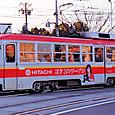 広島電鉄 市内線用 1100形冷房改造車 1101 (もと神戸市電 1100形 1101)