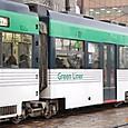 広島電鉄 3950形 グリーンライナー 56F② 3956C