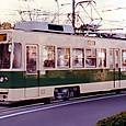 広島電鉄 700形 3次形 711 平行カルダン車 1985年製