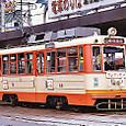伊予鉄道 松山市内線 モハ50形 68  ナニワ工機製 後期車