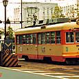 伊予鉄道 松山市内線 モハ50形 54  ナニワ工機製 初期車
