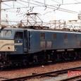 日本国有鉄道 EF58形 EF58-128 宮原機関区