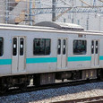 JR東日本 209系 1000番台 松戸車両センター81編成② モハ208-1003 常磐線 地下鉄千代田線直通用