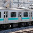JR東日本 209系 1000番台 松戸車両センター81編成⑥ モハ209-1002 常磐線 地下鉄千代田線直通用