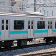 JR東日本 209系 1000番台 松戸車両センター81編成⑦ サハ208-1001 常磐線 地下鉄千代田線直通用