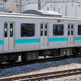 JR東日本 209系 1000番台 松戸車両センター81編成⑧ モハ208-1001 常磐線 地下鉄千代田線直通用