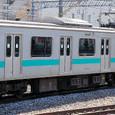 JR東日本 209系 1000番台 松戸車両センター81編成⑨ モハ209-1001 常磐線 地下鉄千代田線直通用