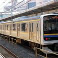 JR東日本 209系2000番台 C607編成① クハ208形2100番台 クハ208-2107 房総各線用