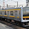 JR東日本 209系2200番台 53編成⑥ クハ208-2200番台 クハ208-2202 南武線用