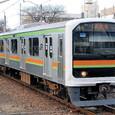 *JR東日本 209系 3100番台 71編成① クハ208-3101