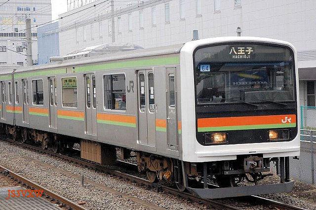JR東日本 209系 3000番台 64編成① クハ208-3004