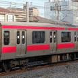 JR東日本 209系 500番台 京葉車両センター31編成⑦ モハ208-525