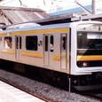 JR東日本 209系0番台 中原電車区 01編成⑥ クハ208-13 南武線用