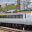 JR東日本 485系 N201編成② モロ484_5024 イベント列車 彩(いろどり)
