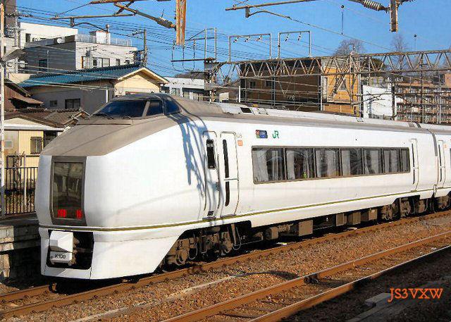 JR東日本 651系 スーパーひたち K109+K203編成① クハ650形0番台 クハ650-17