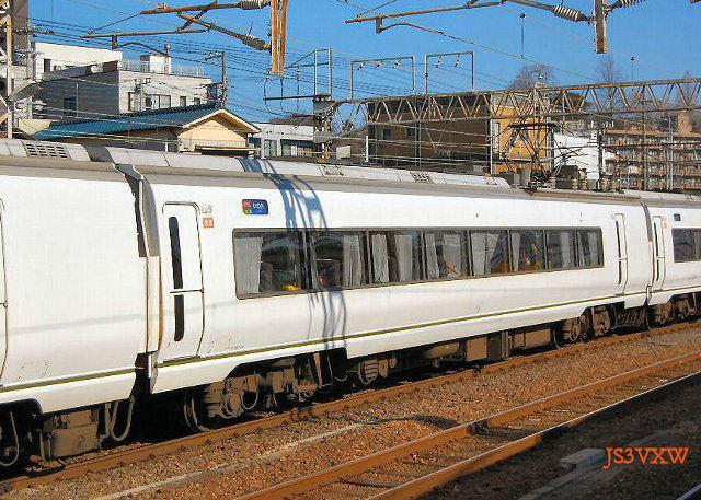 JR東日本 651系 スーパーひたち K109+K203編成② モハ650形100番台 モハ650-109