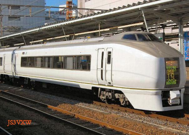 JR東日本 651系 スーパーひたち K109+K203編成⑪ クハ651形100番台 クハ651-103
