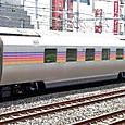 JR東日本 E26系 特急カシオペア編成⑥ スロネE27形300番台 スロネE27-302 カシオペアツイン シャワー付