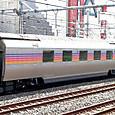 JR東日本 E26系 特急カシオペア編成⑩ スロネE27形300番台 スロネE27-301 カシオペアツイン シャワー付