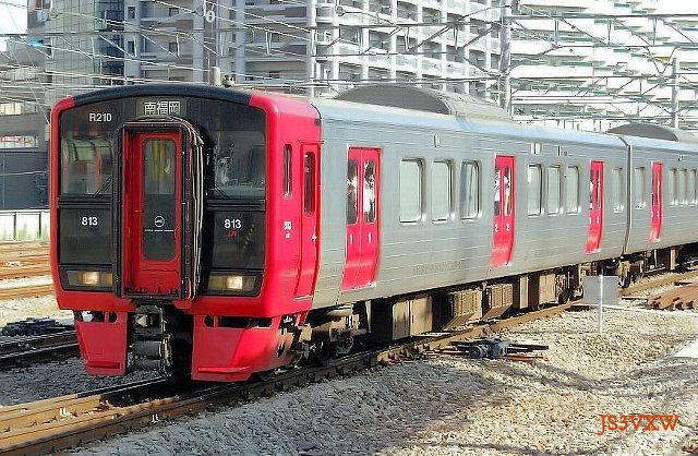 JR九州 813系 Rm210編成① クモハ813形200番台 クモハ813-210 南福岡電車区 北ミフ