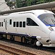 JR九州 885系 INTERCITY AROUND THE KYUSYU  Sm07編成① クロハ884形0番台 クロハ884-7(特急ソニック12号)