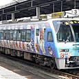 JR四国 2000系 予讃線用 アンパンマン列車編成① 2000形 2004 特急しおかぜ 「ばいきんまん号」