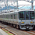 JR西日本 223系5000番台 P3編成 快速マリンライナー