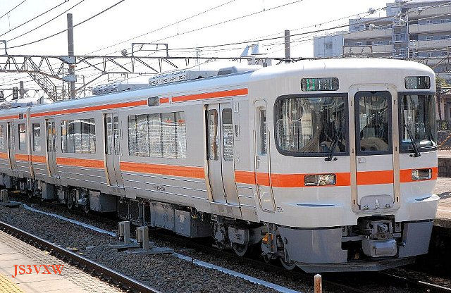 JR東海 キハ25系 P4編成① キハ25形100番台 キハ25-104 トイレ付き