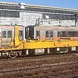 JR東海 キヤ97系R101編成③ キヤ96形0番台 キヤ96-1 ロングレール運搬車