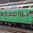 JR西日本 113系 京都地域色 C13編成④ クハ111-5715