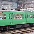 JR西日本 113系 京都地域色 L03編成③ モハ113-5707