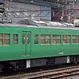 JR西日本 117系 京都地域色 S6編成③ モハ117形300番台 モハ117-342