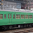 JR西日本 117系 京都地域色 S6編成② モハ116形300番台 モハ116-342