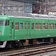 JR西日本 117系 京都地域色 S6編成⑥ クハ117形300番台 クハ117-321