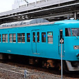 JR西日本 117系 和歌山地域色 SG003編成④ クハ117形300番台 クハ117-308