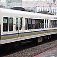 JR西日本 221系リニューアル車 NC602編成② サハ220形 サハ220-3