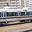 JR西日本 321系 D6編成③ サハ321形 サハ321-6