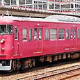 JR西日本 415系800番台  C07編成①  クハ415-807  新地域色:DIC-N-727 七尾線用